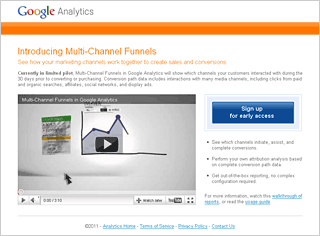 Google Analytics Multi-Channel Funnels